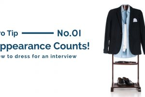 Appearance counts! How to dress for an interview
