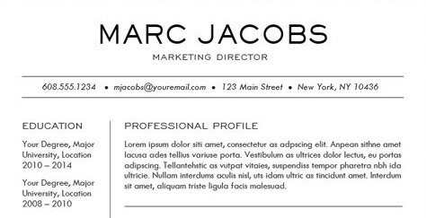 career title - Professional Objective For Resume