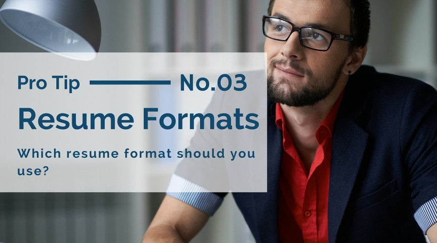 The best resume format for today's job seeker