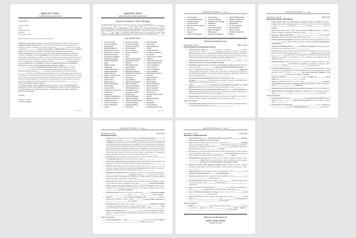 express resume kit
