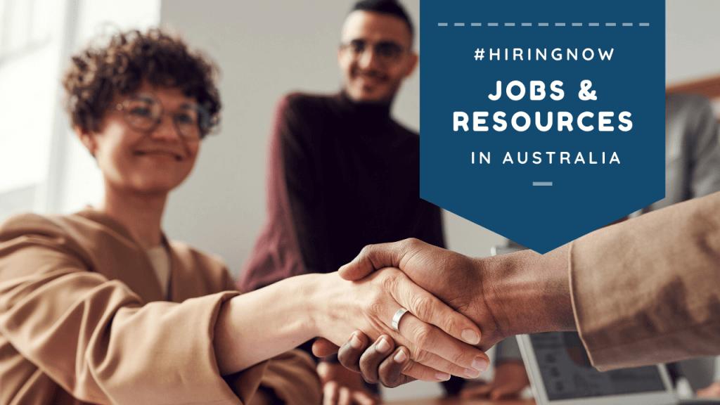 #hiringnow Australia