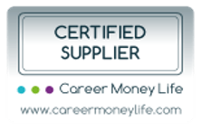 Career Money Life Certified Supplier Logo