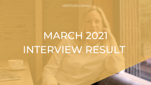MARCH 2021 INTERVIEW RESULT